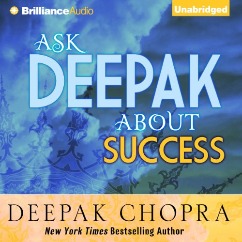 Ask Deepak About Success audiobook cover art