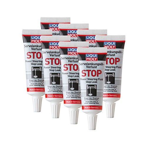 8x Liqui Moly 1099Servo lenkungs Pérdida de aceite Stop Engranaje de dirección...