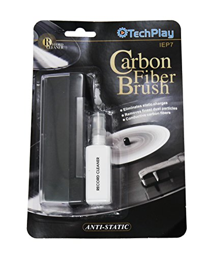 TechPlay Anti Static Carbon Fiber Record and Lp Cleaner