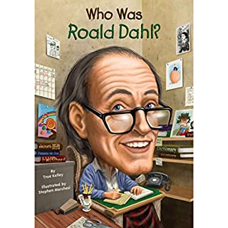 Who Was Roald Dahl? audiobook cover art