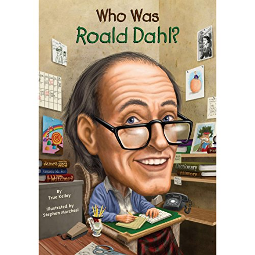 Who Was Roald Dahl? audiobook cover art