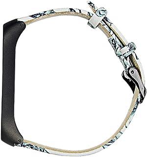 UKCOCO Compatible pour Mi Bande 4 Bracelet en Cuir Bracelets de Montre Smartwatch Bracelets de Remplacement Montre Bracele...