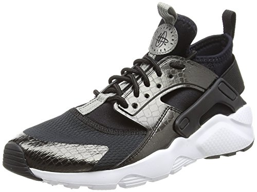Nike Air Huarache Run Ultra GS, Chaussures de Gymnastique garçon, Noir (Black M T L C Pewterblackwhite 021), 38 EU