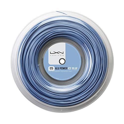 Luxilon Unisex Tennissaite Alu Power 125, blau, 220 Meter Rolle, 1,25 mm, WRZ990100BL