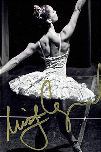 Misty Copeland Autograph Replica Super Print - Black and White - Portrait - Unframed