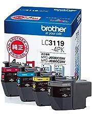 brother 原装墨盒大容量 4色包装 LC3119-4PK parent, LC3119-4PK