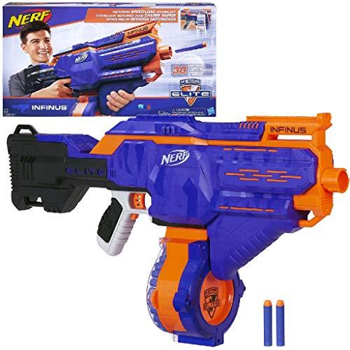 Hasbro Nerf E0438EU4 Infinus, Blaster giocattolo,...