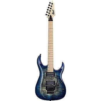 Guitarra electrica cuerpo macizo Cort X300 BLB: Amazon.es ...