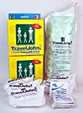 2 x 3 Packs TravelJohn Unisex Disposable/Resealable Urinals by TravelJohn