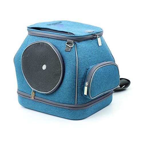 Pet rugzak Out Portable Comfortabele multifunctionele Small Dog Cat Single Messenger schoudertas Opvouwbare tas 30 * 25 * 30cm (Color : A, Size : 30 * 25 * 30cm)