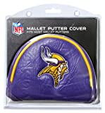 Team Golf NFL Minnesota Vikings Golf Club Mallet Putter Headcover, Fits Most Mallet Putters, Scotty Cameron, Daddy Long Legs, Taylormade, Odyssey, Titleist, Ping, Callaway