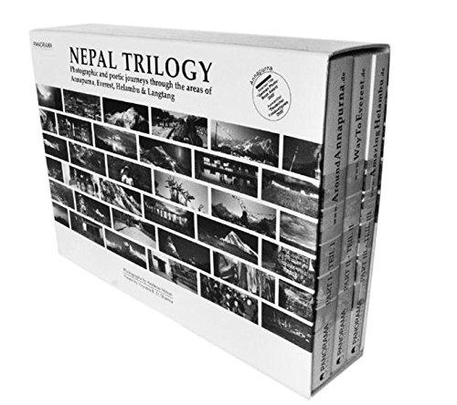 Die Nepal-Trilogie, Annapurna, Everest, Helambu & Langtang: Photographische und poetische Reisen durch die bekanntesten Wandergebiete des Himalajas. Eine Hasselblad XPan-Photodokumentation