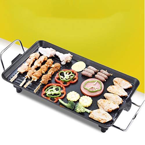Elektrische Grill Huishoudelijke Elektrische Grill Rookvrije Barbecue Elektromechanische Bakplaat IJzeren Plaat BBQ Vleespan Grote Medium en Kleine