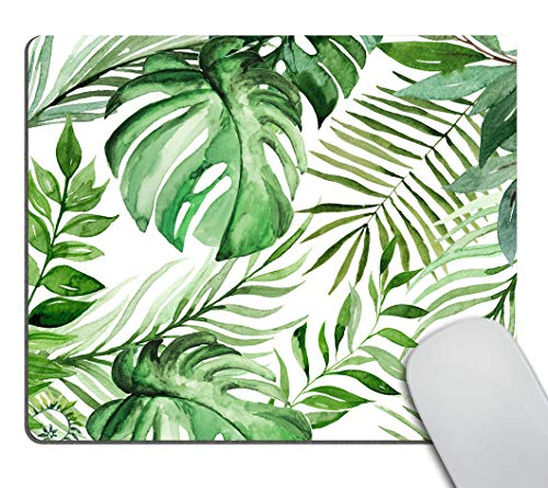 Smooffly Wild Leaf Mouse pad, Leaves Mouse pad, Office Supplies, Gift for Friend, Desk Accessories