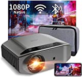 Best Android Projectors - Wifi Bluetooth Projector Native 1080p Full HD 8000 Review
