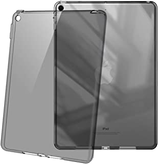 HBorna Soft TPU Case for iPad 9.7 2018/2017 Model, Ultra Slim Transparent Flexible Rubber Silicone Gel Scratch Resistant Back Cover Skin for Apple iPad 9.7 Inch 5th 6th Generation - Taupe