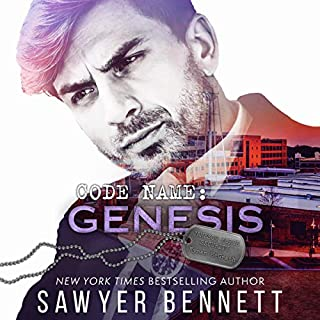 Code Name: Genesis      Jameson Force Security, Book 1              By:                                                                                                                                 Sawyer Bennett                               Narrated by:                                                                                                                                 Shane East,                                                                                        Imogen Church                      Length: 7 hrs and 32 mins     Not rated yet     Overall 0.0