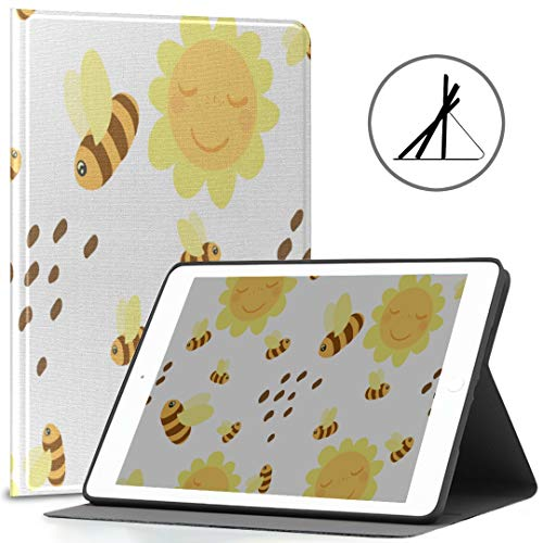 Ipad 9.7 Cases Lovely Kawaii Arrow Particluar Fit 2018/2017 Ipad 5ª/6ª generación Ipad 9.7 Ipad caso también compatible con iPad Air 2/iPad Air Auto Wake/Sleep
