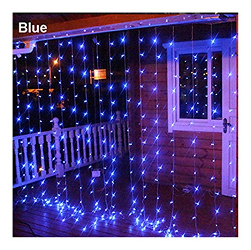 European-Style 220 V / 110 V American Plug Digital Water Curtain Cascade Light Outside Light Wedding Party Decoration Christmas Wreath Holiday Decorations