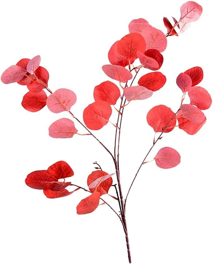 MFLJU Houston Mall Artificial Flowers Phoenix Mall Faux Eucalyptus Fake Plants