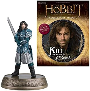 The Hobbit Kili The Dwarf In Mirkwood Forest Figure with Collector Magazine #23