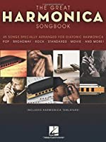 The Great Harmonica Songbook: 45 Songs Specially Arranged for Diatonic Harmonica by Unknown(2009-12-03)