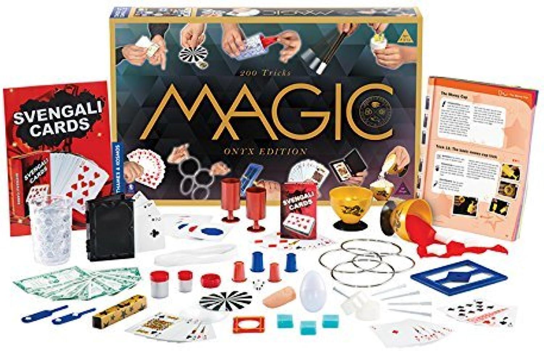 al precio mas bajo Thames & & & Kosmos Magic  Onyx Edition Jugarset with 200 Tricks by Thames & Kosmos  ahorra hasta un 70%