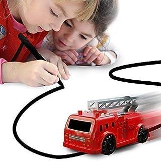 Nylea Magic Vehicles Inductive Truck [Follows Black Line] Magic Toy Car for Kids & Children - Best Toddler Toys Mini Magic...