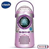 VTech - Kidi LightShow Party, enceinte Bluetooth enfant - Version FR