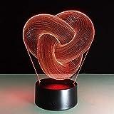 Abstrakte Acryllichter Nachtlichter Berührungssensorlichter Farben ändern dekorative Lichter...
