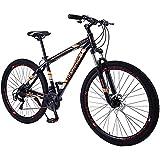 WXXMZY Bicicleta De Montaña Bicicleta De Montaña con Cuadro De Aluminio De 29 Pulgadas Y 21 Velocidades, Lo Que Reduce El Tiempo Escolar Y Laboral (Color : Orange)