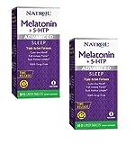 Natrol Melatonin + 5 HTP Advanced Sleep Time Release Bi-Layer Tablets (2)
