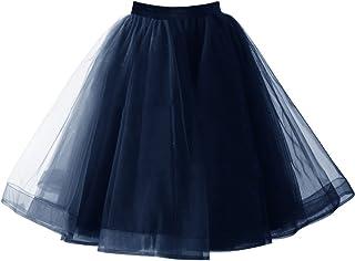XL Hell Bunny 1950 50er Petticoat Knielang Weiß Unterrock Jive Rockabilly Xs