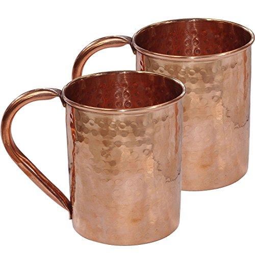 Stylla London Pliables Accessoires martelé Moscow Mule Mug, Cuivre, 9.13 x 4.96 x 4.57 cm