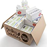 Hand Sanitizer Gel (Bulk 384 Pack - Mini 2 oz Bottle) - 75% Alcohol - Kills 99.99% of Germs - Small 2oz Wholesale Travel Size Individual Personal Pocket 2 Ounce Bottles