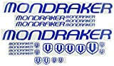 Ecoshirt VP-FU55-WN00 Pegatinas Mondraker F163 Vinilo Adesivi Decal Aufkleber Клей MTB Stickers Bike, Azul