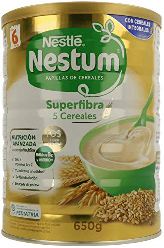 NESTUM papilla 5 cereales, lata 650gr.