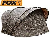 Fox R-Series XL 2 Man inc Inner Dome 315x330x185cm camo - Angelzelt zum Karpfenangeln &...