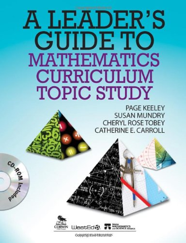 Download A Leader's Guide to Mathematics Curriculum Topic Study 1412992605