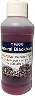 Brewer's Best Natural Beer and Wine Fruit Flavoring (Blackberry)