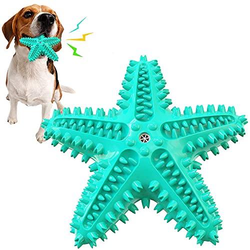 Masticando Dientes Juguete Perro, Juguete Molar Mascotas, Cepillo Dientes Perros Juguete, para Perros Grandes, Pequeños y Medianos, Entrenamiento de Rompecabezas Interactivo al Aire Libre (Azul)