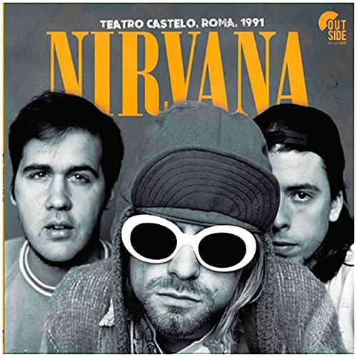 Nirvana – Teatro Castelo, Roma, 1991 [Disco de Vinil]