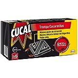 Cucal Insecticida Trampa Cucarachas Doble Cebo 6 unidades
