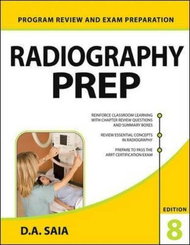 Radiography Prep Program Review And Exam Preparation 8th Edition Lange