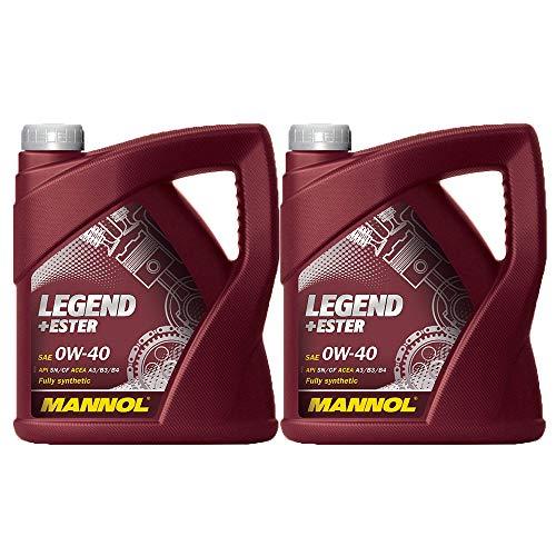 MANNOL Legend+Ester 0W-40 API SN/CF, 2 * 4 Liter