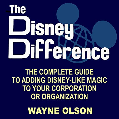 The Disney Difference audiobook cover art