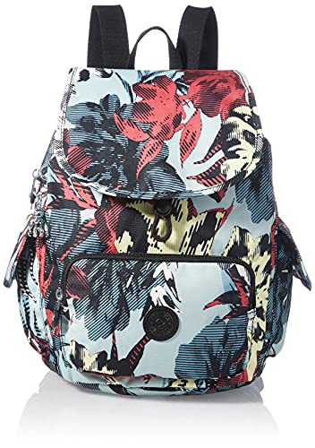 Kipling Damen City Pack S Rucksäcke, Lässige Blume, One Size