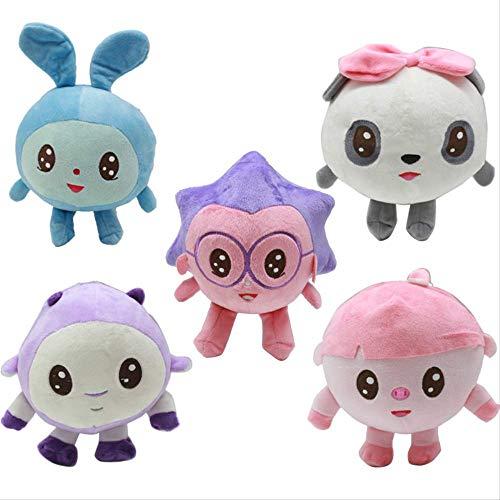 N\a 20cm Riki Süße Cartoon Plüsch Spielzeug Gefüllt &plüsch Tier Baby Schlaf Puppen Für Kinder Geschenk 5St