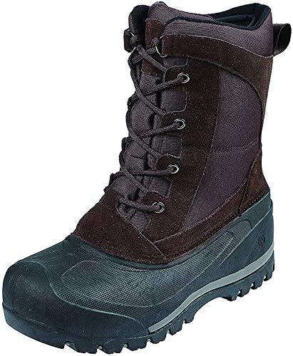 Northside Men's MT. Baker Snow Boot, Dark Brown, 11 Medium US