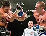 Limited Edition gerahmtes Foto Carl Froch V George Groves